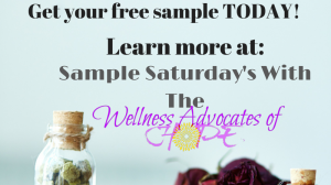Sample Saturday!